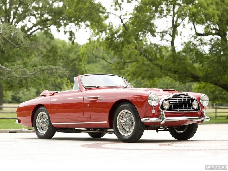Постер Aston Martin DB2 4 Drophead Coupe (MkII) 1955-57, 27x20 см, на бумагеAston Martin<br>Постер на холсте или бумаге. Любого нужного вам размера. В раме или без. Подвес в комплекте. Трехслойная надежная упаковка. Доставим в любую точку России. Вам осталось только повесить картину на стену!<br>