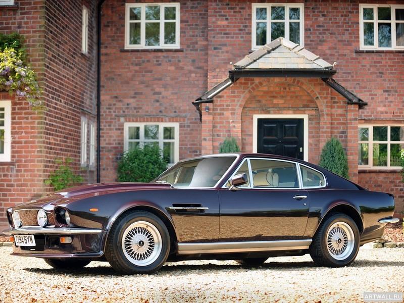 Постер Aston Martin V8 Volante UK-spec 1977-89, 27x20 см, на бумагеAston Martin<br>Постер на холсте или бумаге. Любого нужного вам размера. В раме или без. Подвес в комплекте. Трехслойная надежная упаковка. Доставим в любую точку России. Вам осталось только повесить картину на стену!<br>