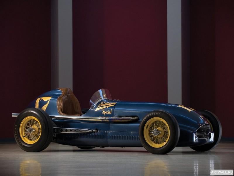 Belanger Special Indy Roadster 1949, 27x20 см, на бумагеРазные марки<br>Постер на холсте или бумаге. Любого нужного вам размера. В раме или без. Подвес в комплекте. Трехслойная надежная упаковка. Доставим в любую точку России. Вам осталось только повесить картину на стену!<br>