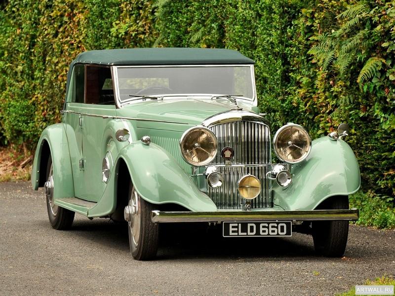 Постер Bentley 4 1 4 Litre Tourer by Thrupp &amp; Maberly 1937, 27x20 см, на бумагеBentley<br>Постер на холсте или бумаге. Любого нужного вам размера. В раме или без. Подвес в комплекте. Трехслойная надежная упаковка. Доставим в любую точку России. Вам осталось только повесить картину на стену!<br>