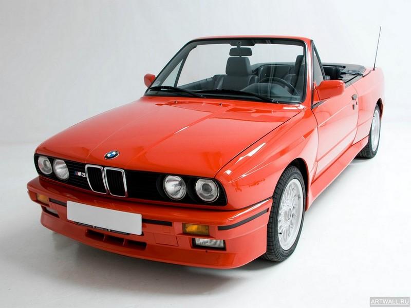 Постер BMW M3 Cabrio (E30) 1988-91, 27x20 см, на бумагеBMW<br>Постер на холсте или бумаге. Любого нужного вам размера. В раме или без. Подвес в комплекте. Трехслойная надежная упаковка. Доставим в любую точку России. Вам осталось только повесить картину на стену!<br>