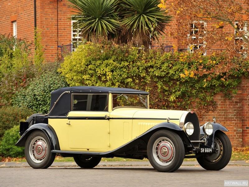 Постер Bugatti Type 44 Touring 1930, 27x20 см, на бумагеBugatti<br>Постер на холсте или бумаге. Любого нужного вам размера. В раме или без. Подвес в комплекте. Трехслойная надежная упаковка. Доставим в любую точку России. Вам осталось только повесить картину на стену!<br>
