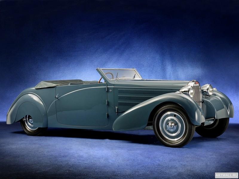 Bugatti Type 57 by Galibier 1936, 27x20 см, на бумагеBugatti<br>Постер на холсте или бумаге. Любого нужного вам размера. В раме или без. Подвес в комплекте. Трехслойная надежная упаковка. Доставим в любую точку России. Вам осталось только повесить картину на стену!<br>