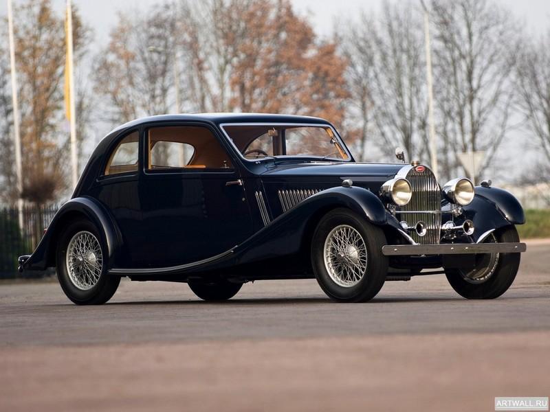Постер Bugatti Type 57 Roadster 1937, 27x20 см, на бумагеBugatti<br>Постер на холсте или бумаге. Любого нужного вам размера. В раме или без. Подвес в комплекте. Трехслойная надежная упаковка. Доставим в любую точку России. Вам осталось только повесить картину на стену!<br>