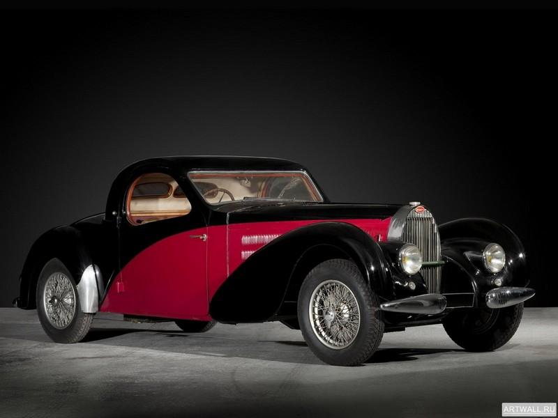 Постер Bugatti Type 57 Ventoux Coupe 1935-38, 27x20 см, на бумагеBugatti<br>Постер на холсте или бумаге. Любого нужного вам размера. В раме или без. Подвес в комплекте. Трехслойная надежная упаковка. Доставим в любую точку России. Вам осталось только повесить картину на стену!<br>