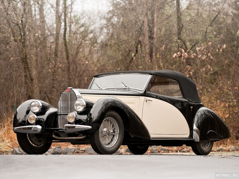 Постер Bugatti Type 57C Coupe Aerodynamique 1936, 27x20 см, на бумагеBugatti<br>Постер на холсте или бумаге. Любого нужного вам размера. В раме или без. Подвес в комплекте. Трехслойная надежная упаковка. Доставим в любую точку России. Вам осталось только повесить картину на стену!<br>