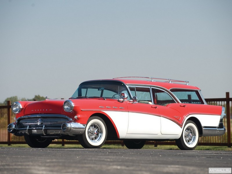 Постер Buick Century Caballero Wagon 1957, 27x20 см, на бумагеBuick<br>Постер на холсте или бумаге. Любого нужного вам размера. В раме или без. Подвес в комплекте. Трехслойная надежная упаковка. Доставим в любую точку России. Вам осталось только повесить картину на стену!<br>