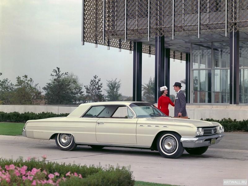 Постер Buick Electra 225 1962, 27x20 см, на бумагеBuick<br>Постер на холсте или бумаге. Любого нужного вам размера. В раме или без. Подвес в комплекте. Трехслойная надежная упаковка. Доставим в любую точку России. Вам осталось только повесить картину на стену!<br>