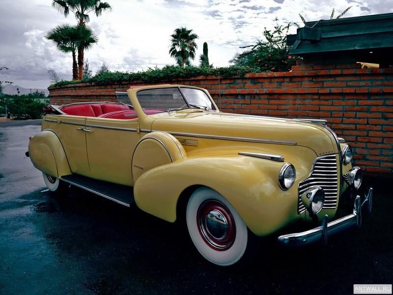 Постер Buick Limited Sport Phaeton (80С) 1940, 27x20 см, на бумагеBuick<br>Постер на холсте или бумаге. Любого нужного вам размера. В раме или без. Подвес в комплекте. Трехслойная надежная упаковка. Доставим в любую точку России. Вам осталось только повесить картину на стену!<br>