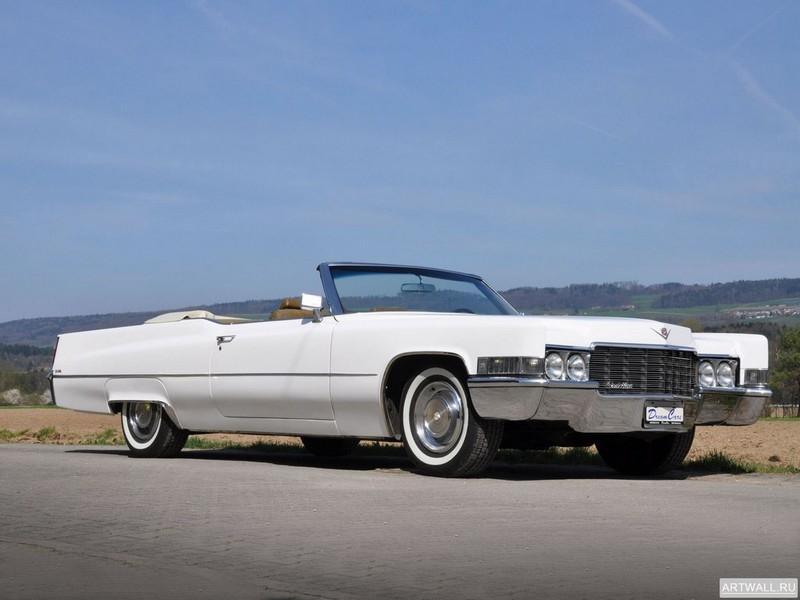 Cadillac de Ville Convertible 1969, 27x20 см, на бумагеCadillac<br>Постер на холсте или бумаге. Любого нужного вам размера. В раме или без. Подвес в комплекте. Трехслойная надежная упаковка. Доставим в любую точку России. Вам осталось только повесить картину на стену!<br>