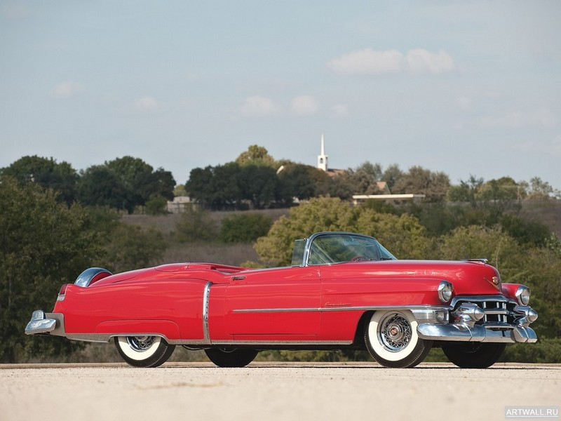 Постер Cadillac Eldorado Convertible 1953, 27x20 см, на бумагеCadillac<br>Постер на холсте или бумаге. Любого нужного вам размера. В раме или без. Подвес в комплекте. Трехслойная надежная упаковка. Доставим в любую точку России. Вам осталось только повесить картину на стену!<br>