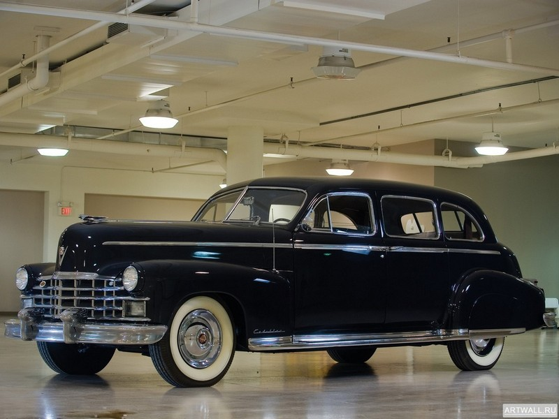 Постер Cadillac Seventy-Five Fleetwood Limousine 1947, 27x20 см, на бумагеCadillac<br>Постер на холсте или бумаге. Любого нужного вам размера. В раме или без. Подвес в комплекте. Трехслойная надежная упаковка. Доставим в любую точку России. Вам осталось только повесить картину на стену!<br>