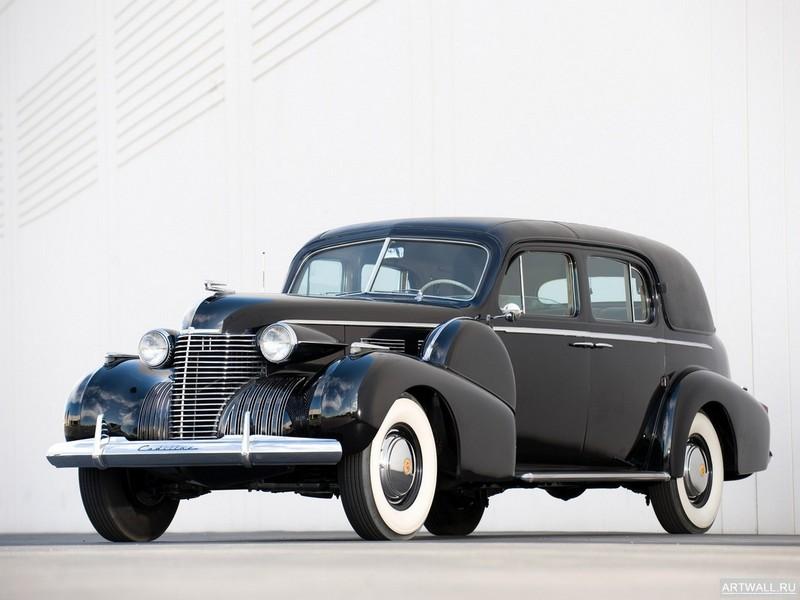 Постер Cadillac Seventy-Five Formal Sedan 1938-41, 27x20 см, на бумагеCadillac<br>Постер на холсте или бумаге. Любого нужного вам размера. В раме или без. Подвес в комплекте. Трехслойная надежная упаковка. Доставим в любую точку России. Вам осталось только повесить картину на стену!<br>