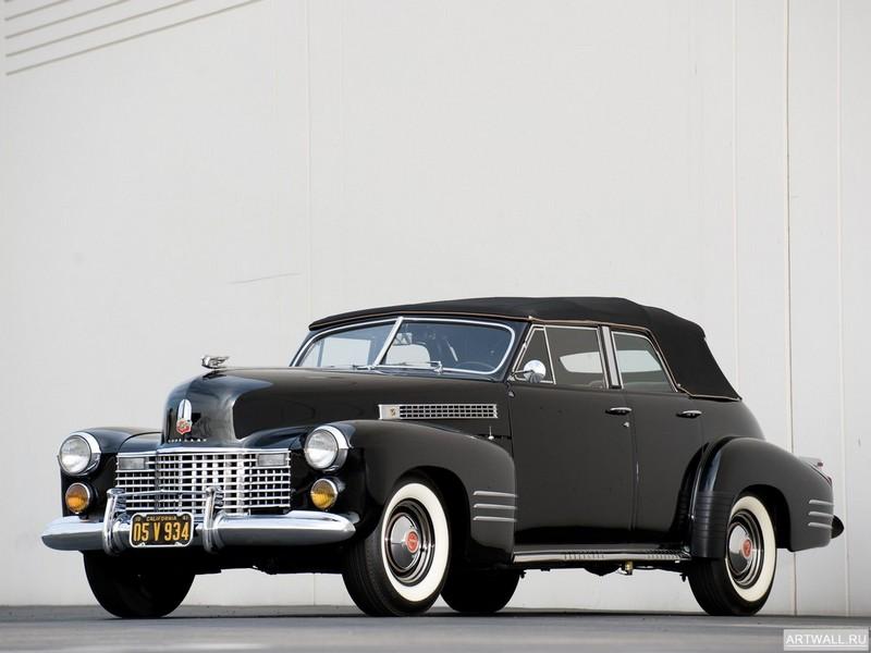 Постер Cadillac Sixty-Two Convertible Coupe 1951, 27x20 см, на бумагеCadillac<br>Постер на холсте или бумаге. Любого нужного вам размера. В раме или без. Подвес в комплекте. Трехслойная надежная упаковка. Доставим в любую точку России. Вам осталось только повесить картину на стену!<br>