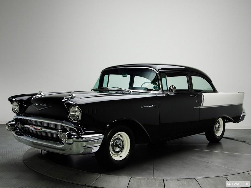Постер Chevrolet 150 2-door Sedan (1502-1211) 1957, 27x20 см, на бумагеChevrolet<br>Постер на холсте или бумаге. Любого нужного вам размера. В раме или без. Подвес в комплекте. Трехслойная надежная упаковка. Доставим в любую точку России. Вам осталось только повесить картину на стену!<br>