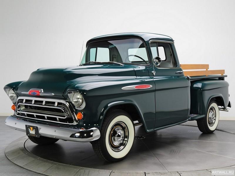 Chevrolet 3100 Pickup 1957, 27x20 см, на бумагеChevrolet<br>Постер на холсте или бумаге. Любого нужного вам размера. В раме или без. Подвес в комплекте. Трехслойная надежная упаковка. Доставим в любую точку России. Вам осталось только повесить картину на стену!<br>