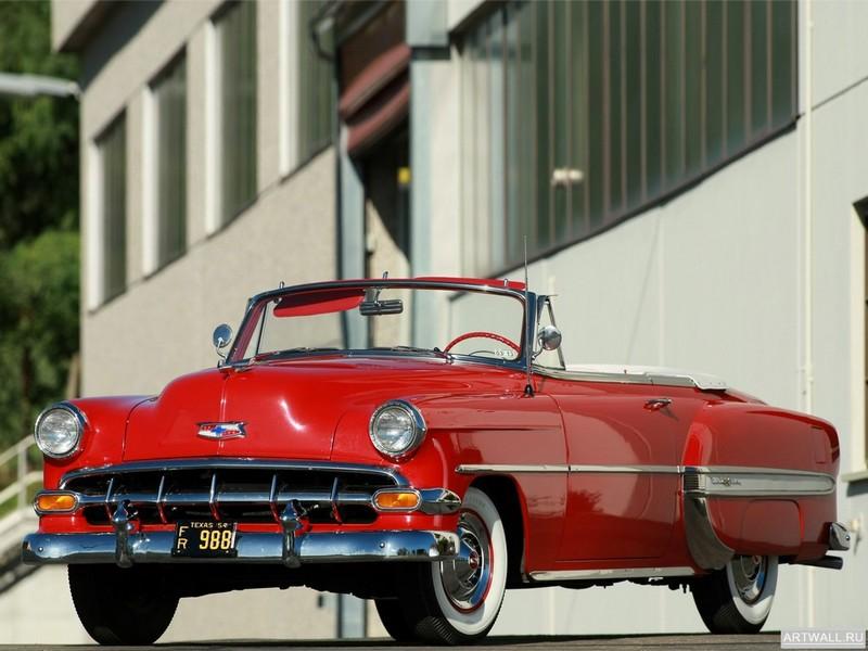 Постер Chevrolet Bel Air Convertible (2434-1067D) 1954, 27x20 см, на бумагеChevrolet<br>Постер на холсте или бумаге. Любого нужного вам размера. В раме или без. Подвес в комплекте. Трехслойная надежная упаковка. Доставим в любую точку России. Вам осталось только повесить картину на стену!<br>