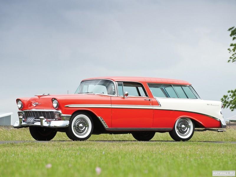 Постер Chevrolet Bel Air Nomad (2429-1064DF) 1956, 27x20 см, на бумагеChevrolet<br>Постер на холсте или бумаге. Любого нужного вам размера. В раме или без. Подвес в комплекте. Трехслойная надежная упаковка. Доставим в любую точку России. Вам осталось только повесить картину на стену!<br>