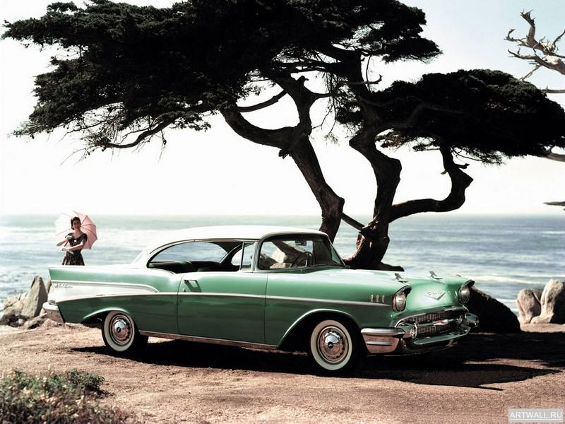 Постер Chevrolet Bel Air Sport Coupe 1957, 27x20 см, на бумагеChevrolet<br>Постер на холсте или бумаге. Любого нужного вам размера. В раме или без. Подвес в комплекте. Трехслойная надежная упаковка. Доставим в любую точку России. Вам осталось только повесить картину на стену!<br>