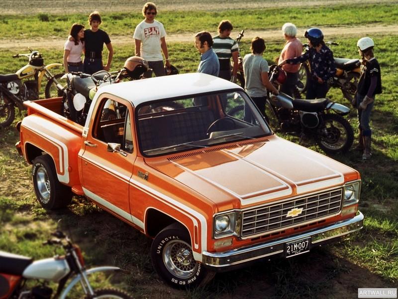 Постер Chevrolet C10 1976, 27x20 см, на бумагеChevrolet<br>Постер на холсте или бумаге. Любого нужного вам размера. В раме или без. Подвес в комплекте. Трехслойная надежная упаковка. Доставим в любую точку России. Вам осталось только повесить картину на стену!<br>