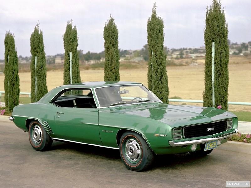 Chevrolet Camaro RS 327 (I) 1969, 27x20 см, на бумагеChevrolet<br>Постер на холсте или бумаге. Любого нужного вам размера. В раме или без. Подвес в комплекте. Трехслойная надежная упаковка. Доставим в любую точку России. Вам осталось только повесить картину на стену!<br>