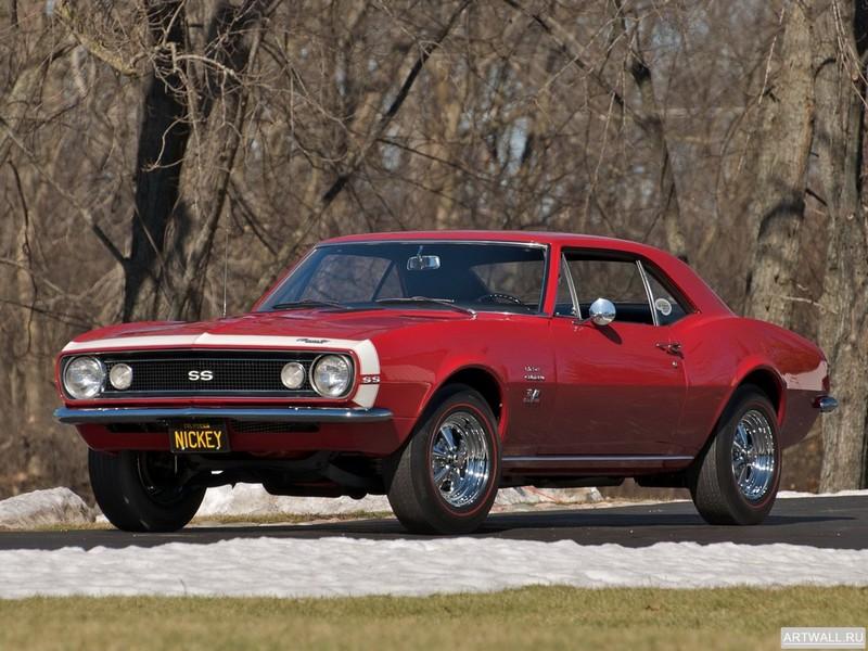 Постер Chevrolet Camaro SS 350 1967, 27x20 см, на бумагеChevrolet<br>Постер на холсте или бумаге. Любого нужного вам размера. В раме или без. Подвес в комплекте. Трехслойная надежная упаковка. Доставим в любую точку России. Вам осталось только повесить картину на стену!<br>