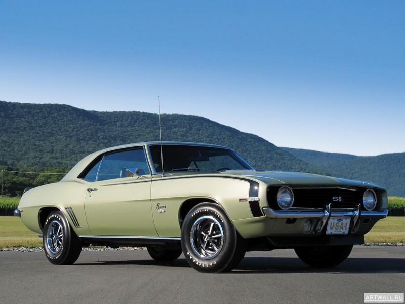 Постер Chevrolet Camaro SS 396 (I) 1969, 27x20 см, на бумагеChevrolet<br>Постер на холсте или бумаге. Любого нужного вам размера. В раме или без. Подвес в комплекте. Трехслойная надежная упаковка. Доставим в любую точку России. Вам осталось только повесить картину на стену!<br>