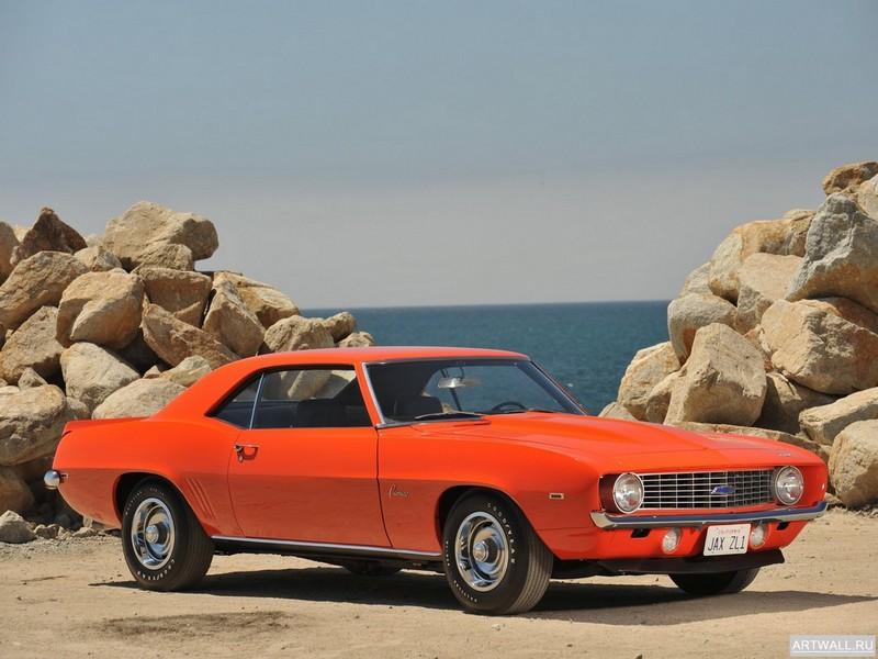 Постер Chevrolet Camaro ZL-1 (I) 1969, 27x20 см, на бумагеChevrolet<br>Постер на холсте или бумаге. Любого нужного вам размера. В раме или без. Подвес в комплекте. Трехслойная надежная упаковка. Доставим в любую точку России. Вам осталось только повесить картину на стену!<br>