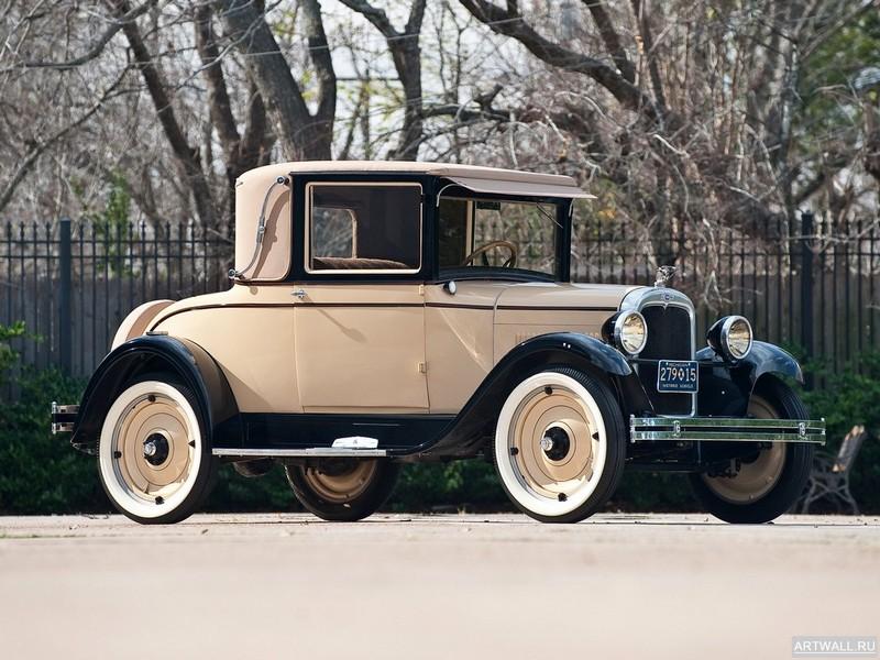 Постер Chevrolet Capitol Sports Cabriolet (AA) 1927, 27x20 см, на бумагеChevrolet<br>Постер на холсте или бумаге. Любого нужного вам размера. В раме или без. Подвес в комплекте. Трехслойная надежная упаковка. Доставим в любую точку России. Вам осталось только повесить картину на стену!<br>