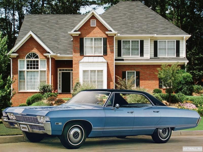 Постер Chevrolet Caprice 4-door Hardtop Sedan 1968, 27x20 см, на бумагеChevrolet<br>Постер на холсте или бумаге. Любого нужного вам размера. В раме или без. Подвес в комплекте. Трехслойная надежная упаковка. Доставим в любую точку России. Вам осталось только повесить картину на стену!<br>