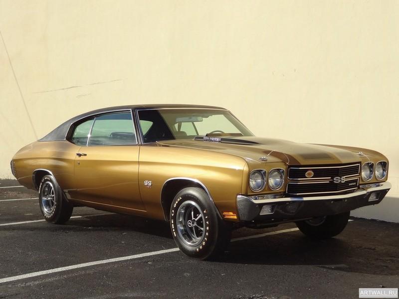 Постер Chevrolet Chevelle SS 454 RPO LS6 Hardtop 1970, 27x20 см, на бумагеChevrolet<br>Постер на холсте или бумаге. Любого нужного вам размера. В раме или без. Подвес в комплекте. Трехслойная надежная упаковка. Доставим в любую точку России. Вам осталось только повесить картину на стену!<br>
