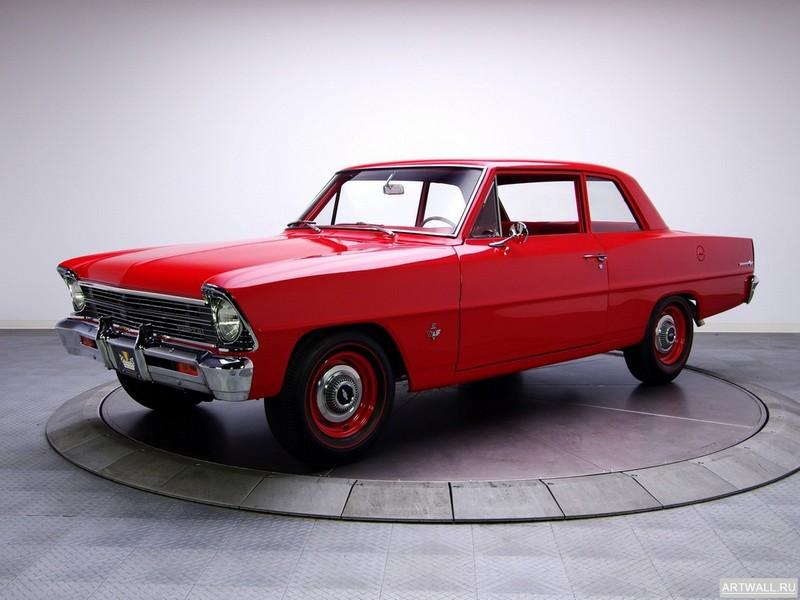 Постер Chevrolet Chevy II 100 2-door Coupe 1966, 27x20 см, на бумагеChevrolet<br>Постер на холсте или бумаге. Любого нужного вам размера. В раме или без. Подвес в комплекте. Трехслойная надежная упаковка. Доставим в любую точку России. Вам осталось только повесить картину на стену!<br>