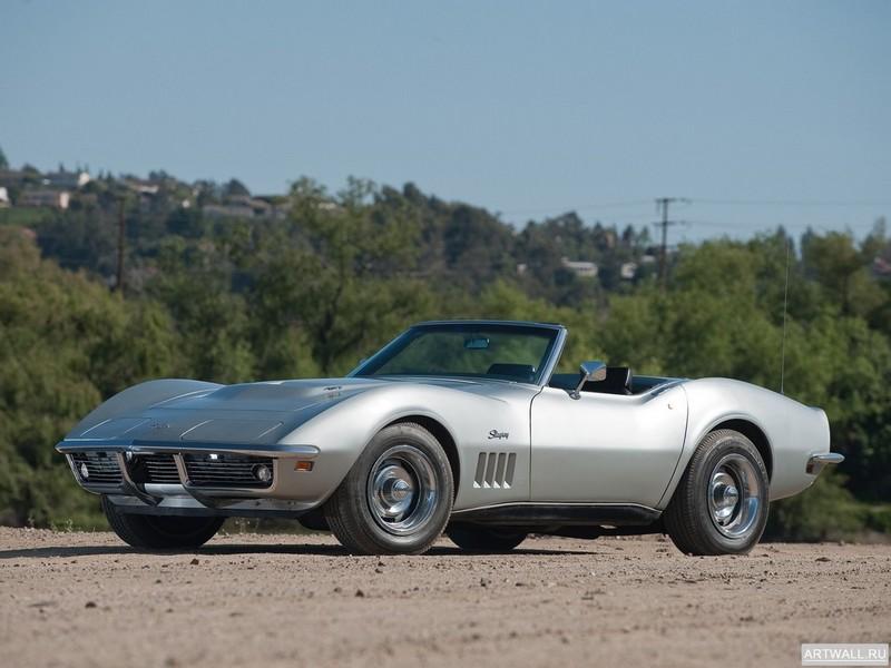 Постер Chevrolet Corvette L68 427 400 Convertible (С3) 1969, 27x20 см, на бумагеChevrolet<br>Постер на холсте или бумаге. Любого нужного вам размера. В раме или без. Подвес в комплекте. Трехслойная надежная упаковка. Доставим в любую точку России. Вам осталось только повесить картину на стену!<br>