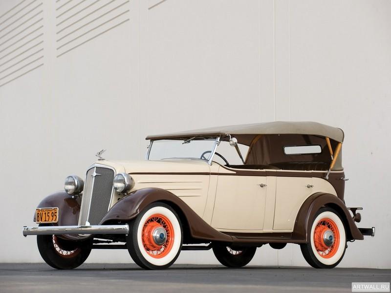 Chevrolet DC Standard Phaeton 1934, 27x20 см, на бумагеChevrolet<br>Постер на холсте или бумаге. Любого нужного вам размера. В раме или без. Подвес в комплекте. Трехслойная надежная упаковка. Доставим в любую точку России. Вам осталось только повесить картину на стену!<br>