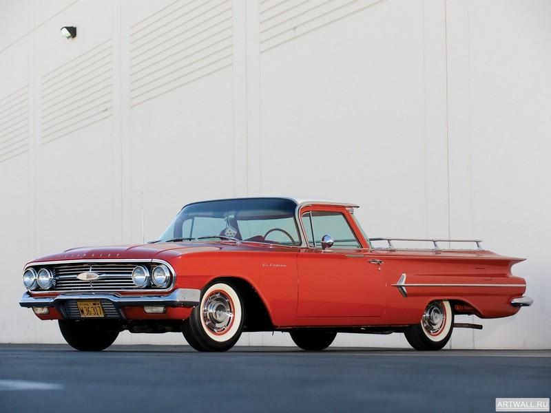 Постер Chevrolet El Camino 1960, 27x20 см, на бумагеChevrolet<br>Постер на холсте или бумаге. Любого нужного вам размера. В раме или без. Подвес в комплекте. Трехслойная надежная упаковка. Доставим в любую точку России. Вам осталось только повесить картину на стену!<br>