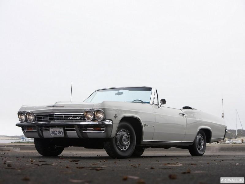 Постер Chevrolet Impala Convertible 1965, 27x20 см, на бумагеChevrolet<br>Постер на холсте или бумаге. Любого нужного вам размера. В раме или без. Подвес в комплекте. Трехслойная надежная упаковка. Доставим в любую точку России. Вам осталось только повесить картину на стену!<br>
