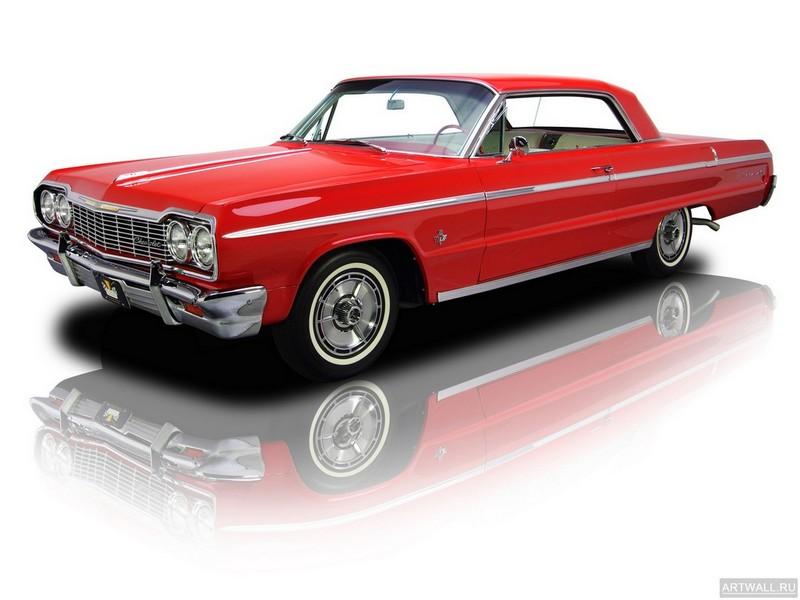 Постер Chevrolet Impala SS 1964, 27x20 см, на бумагеChevrolet<br>Постер на холсте или бумаге. Любого нужного вам размера. В раме или без. Подвес в комплекте. Трехслойная надежная упаковка. Доставим в любую точку России. Вам осталось только повесить картину на стену!<br>