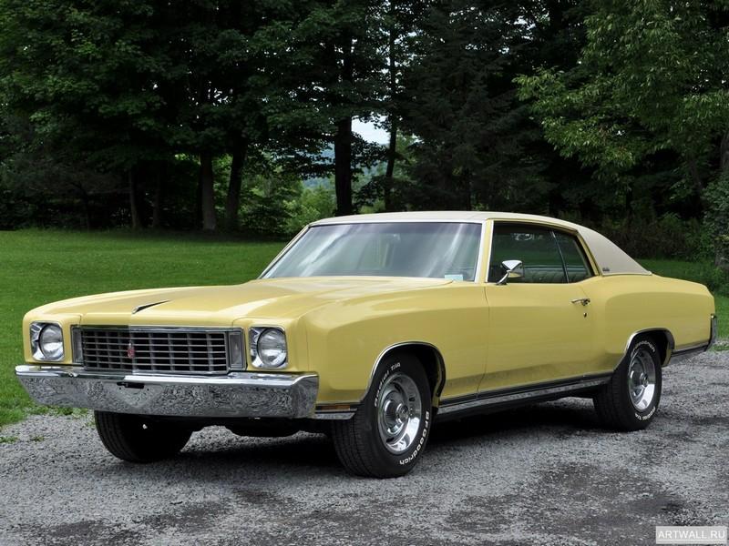 Постер Chevrolet Monte Carlo 1972, 27x20 см, на бумагеChevrolet<br>Постер на холсте или бумаге. Любого нужного вам размера. В раме или без. Подвес в комплекте. Трехслойная надежная упаковка. Доставим в любую точку России. Вам осталось только повесить картину на стену!<br>