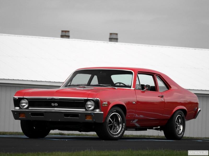 Постер Chevrolet Nova SS 350 1972, 27x20 см, на бумагеChevrolet<br>Постер на холсте или бумаге. Любого нужного вам размера. В раме или без. Подвес в комплекте. Трехслойная надежная упаковка. Доставим в любую точку России. Вам осталось только повесить картину на стену!<br>