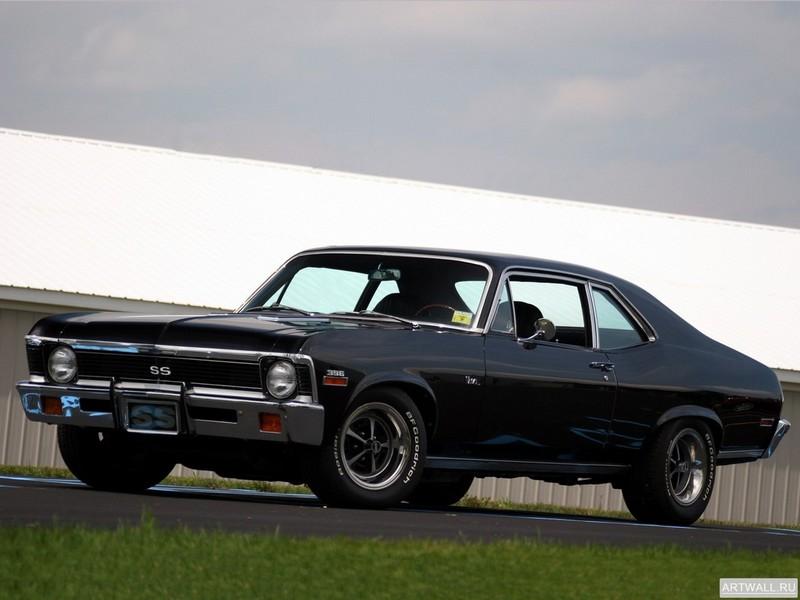 Постер Chevrolet Nova SS 396 1972, 27x20 см, на бумагеChevrolet<br>Постер на холсте или бумаге. Любого нужного вам размера. В раме или без. Подвес в комплекте. Трехслойная надежная упаковка. Доставим в любую точку России. Вам осталось только повесить картину на стену!<br>