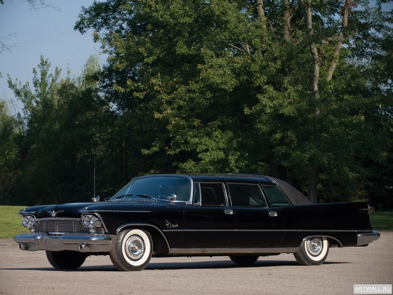 Chrysler Imperial Crown Limousine 1958, 27x20 см, на бумагеChrysler<br>Постер на холсте или бумаге. Любого нужного вам размера. В раме или без. Подвес в комплекте. Трехслойная надежная упаковка. Доставим в любую точку России. Вам осталось только повесить картину на стену!<br>