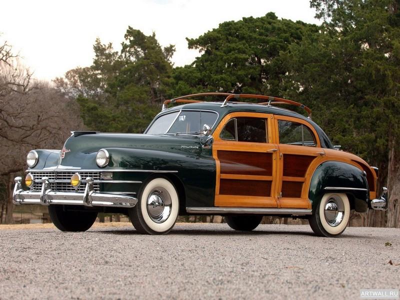 Chrysler Town&amp;Country 1948, 27x20 см, на бумагеChrysler<br>Постер на холсте или бумаге. Любого нужного вам размера. В раме или без. Подвес в комплекте. Трехслойная надежная упаковка. Доставим в любую точку России. Вам осталось только повесить картину на стену!<br>