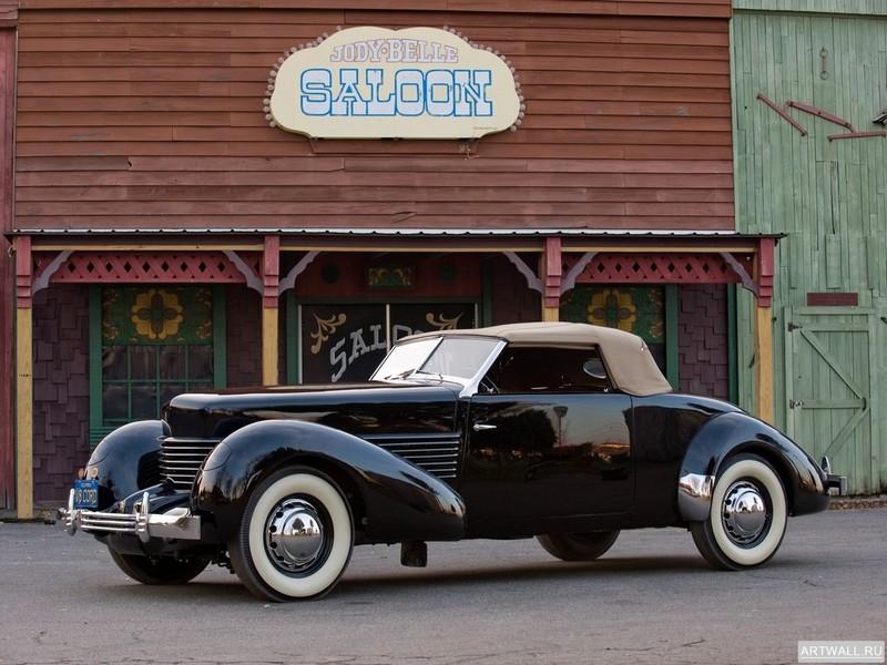 Cord 810 Convertible Coupe 1936, 27x20 см, на бумагеCord<br>Постер на холсте или бумаге. Любого нужного вам размера. В раме или без. Подвес в комплекте. Трехслойная надежная упаковка. Доставим в любую точку России. Вам осталось только повесить картину на стену!<br>