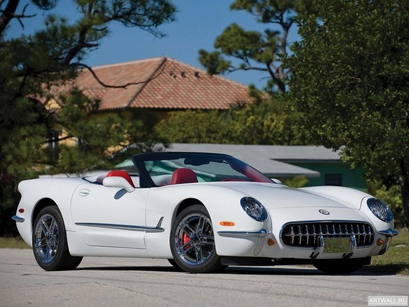 Постер Corvette 1953 Commemorative Edition (C5) 2003-04, 27x20 см, на бумагеCorvette<br>Постер на холсте или бумаге. Любого нужного вам размера. В раме или без. Подвес в комплекте. Трехслойная надежная упаковка. Доставим в любую точку России. Вам осталось только повесить картину на стену!<br>