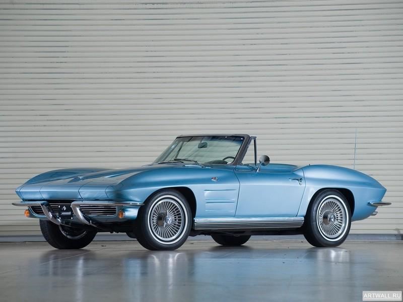 Постер Corvette 327 L76 Convertible (C2) 1964, 27x20 см, на бумагеCorvette<br>Постер на холсте или бумаге. Любого нужного вам размера. В раме или без. Подвес в комплекте. Трехслойная надежная упаковка. Доставим в любую точку России. Вам осталось только повесить картину на стену!<br>
