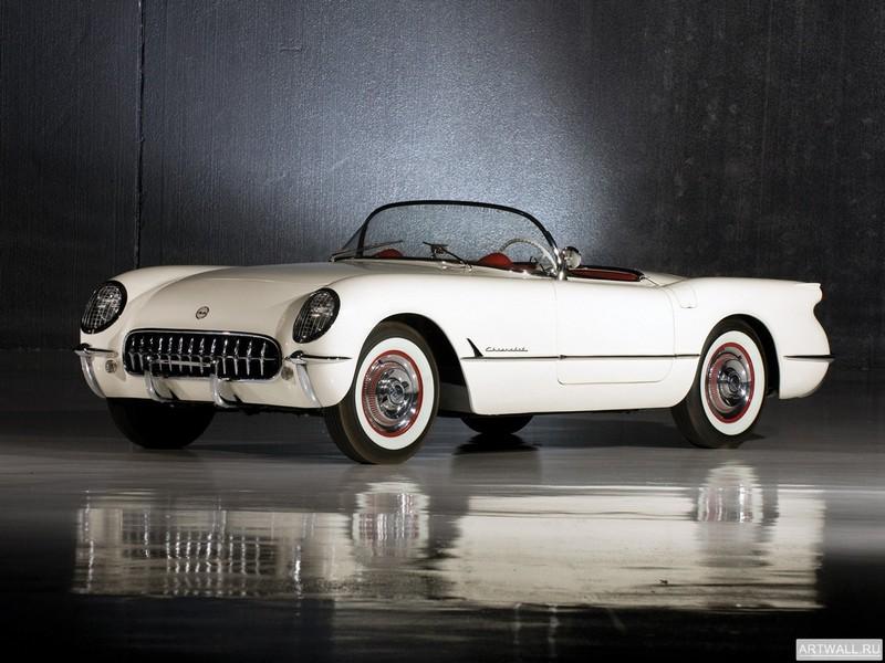 Постер Corvette C1 1953-55, 27x20 см, на бумагеCorvette<br>Постер на холсте или бумаге. Любого нужного вам размера. В раме или без. Подвес в комплекте. Трехслойная надежная упаковка. Доставим в любую точку России. Вам осталось только повесить картину на стену!<br>