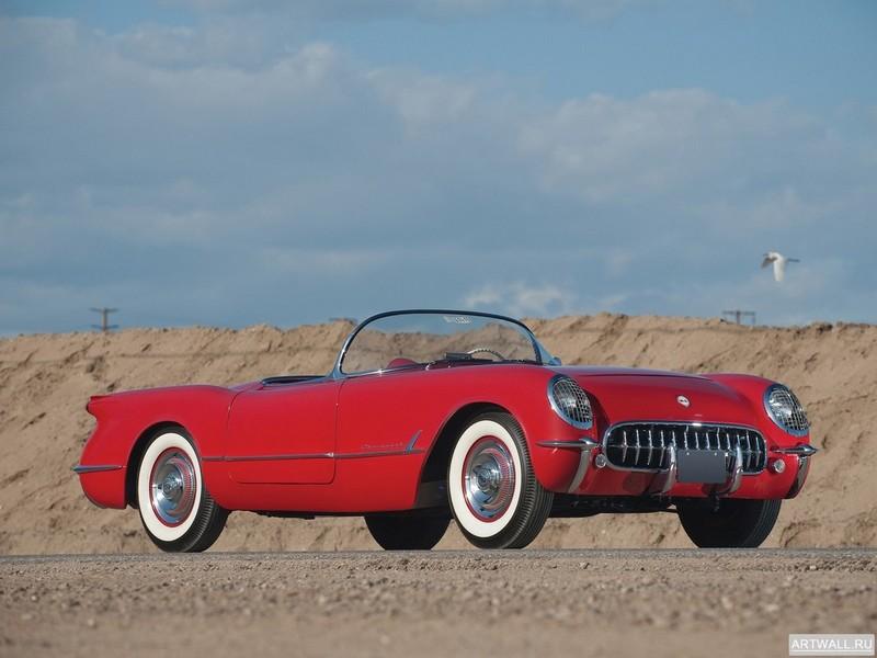 Постер Corvette C1 1954, 27x20 см, на бумагеCorvette<br>Постер на холсте или бумаге. Любого нужного вам размера. В раме или без. Подвес в комплекте. Трехслойная надежная упаковка. Доставим в любую точку России. Вам осталось только повесить картину на стену!<br>