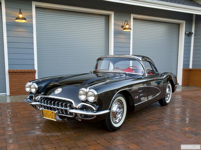 Corvette C1 1959-60, 27x20 см, на бумагеCorvette<br>Постер на холсте или бумаге. Любого нужного вам размера. В раме или без. Подвес в комплекте. Трехслойная надежная упаковка. Доставим в любую точку России. Вам осталось только повесить картину на стену!<br>