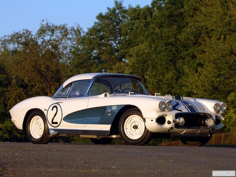 Постер Corvette C1 Fuel Injection Le Mans 1962, 27x20 см, на бумагеCorvette<br>Постер на холсте или бумаге. Любого нужного вам размера. В раме или без. Подвес в комплекте. Трехслойная надежная упаковка. Доставим в любую точку России. Вам осталось только повесить картину на стену!<br>