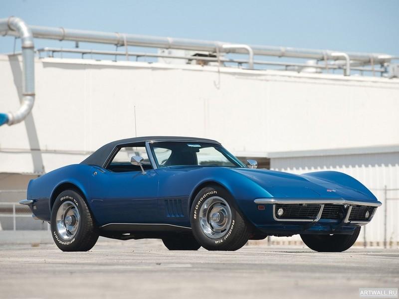 Постер Corvette Convertible (C3) 1968, 27x20 см, на бумагеCorvette<br>Постер на холсте или бумаге. Любого нужного вам размера. В раме или без. Подвес в комплекте. Трехслойная надежная упаковка. Доставим в любую точку России. Вам осталось только повесить картину на стену!<br>